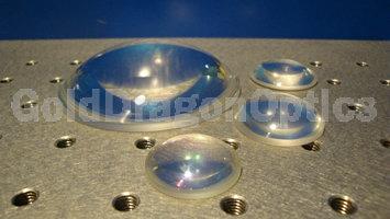 紫外熔石英(JGS1)平凸球面透镜