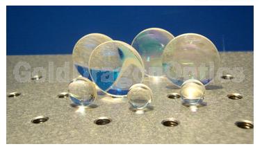 紫外熔石英(JGS1)双凸球面透镜
