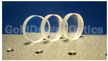 氟化钙(CaF2)双凹球面透镜