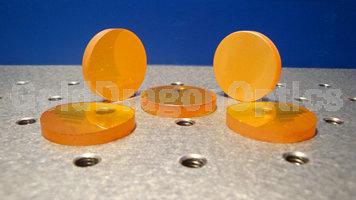 硒化锌(ZnSe)正弯月球面透镜