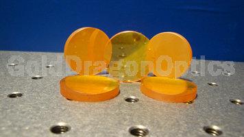 硒化锌(ZnSe)双凸球面透镜