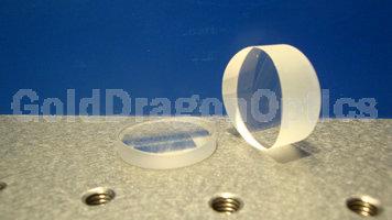 紫外熔石英(JGS1)平凸圆柱面透镜