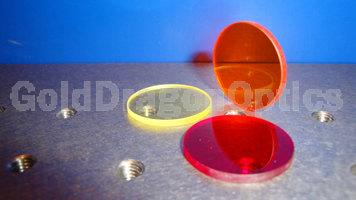 吸收式长波通滤光片