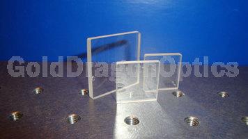 紫外熔石英(JGS1)方形窗口